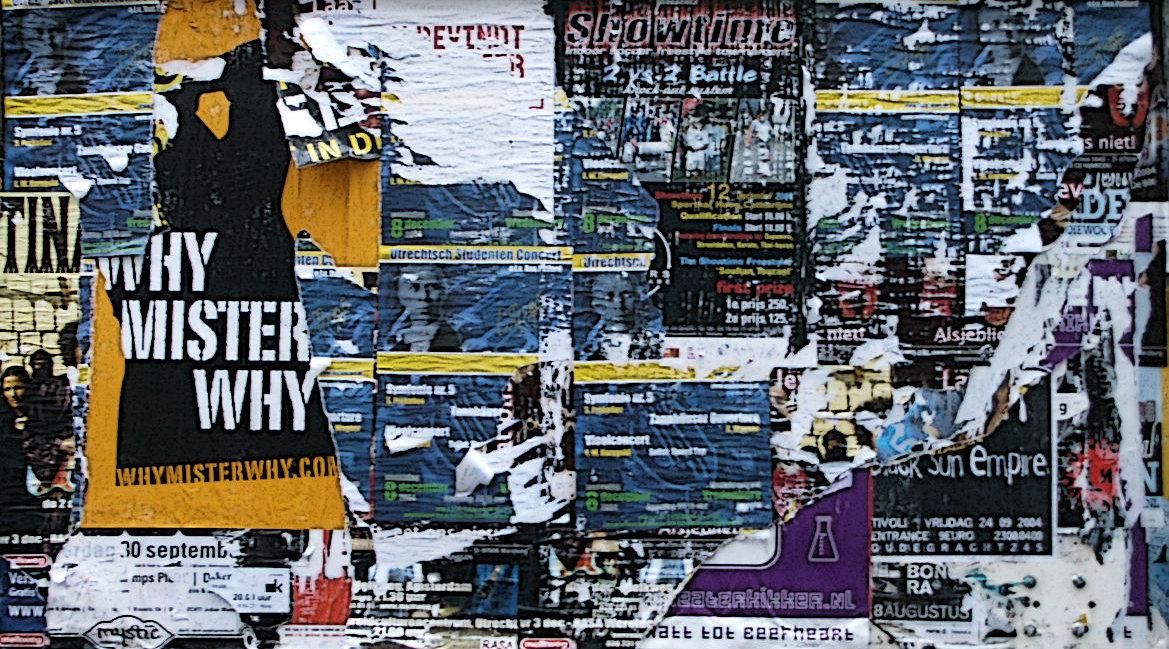 Bild einer Litfass-Wand