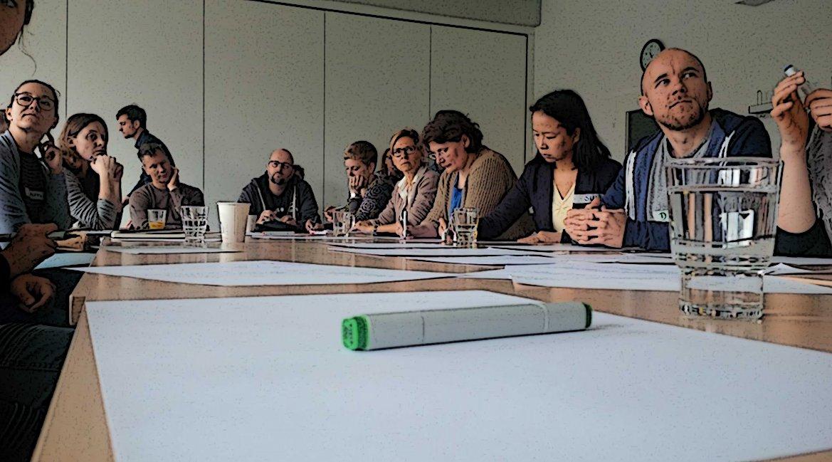 Bild einer Workshop-Gruppe