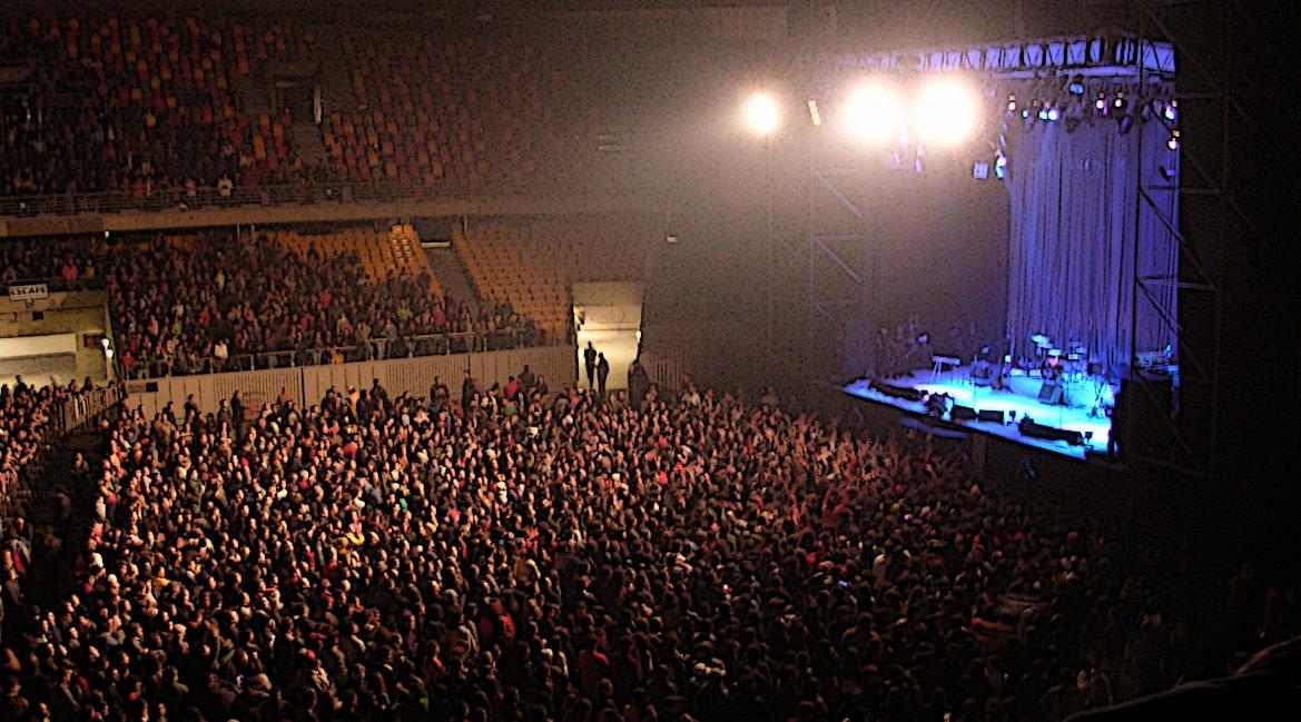 Bild eines Rockkonzerts