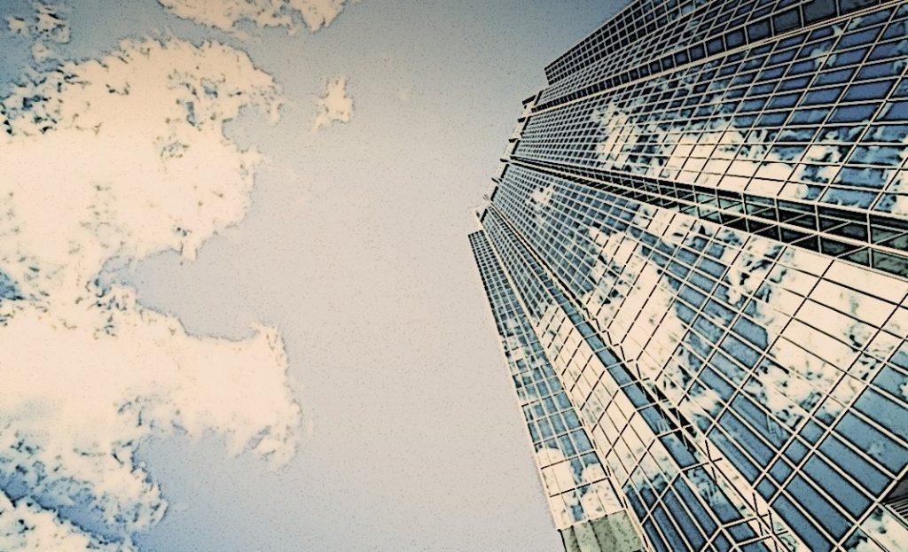Bild eines Wolkenkratzers