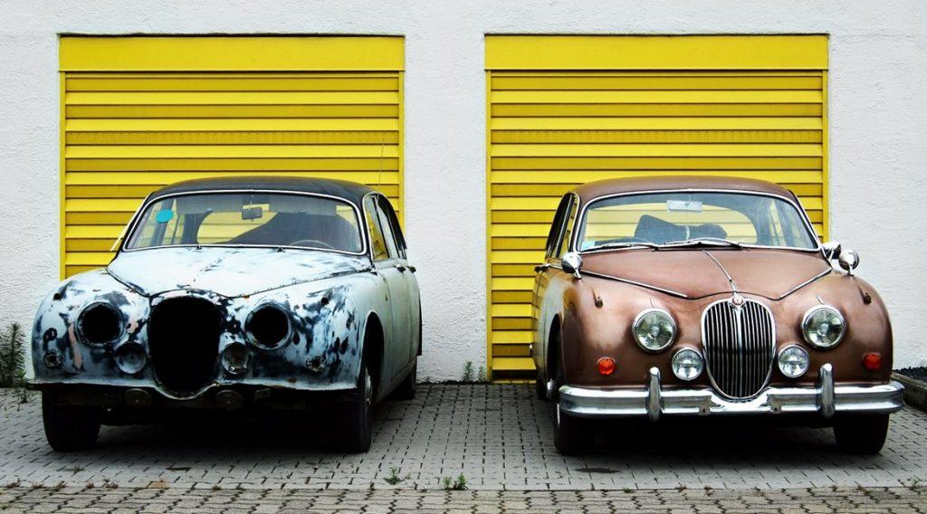 Bild zweier Autos