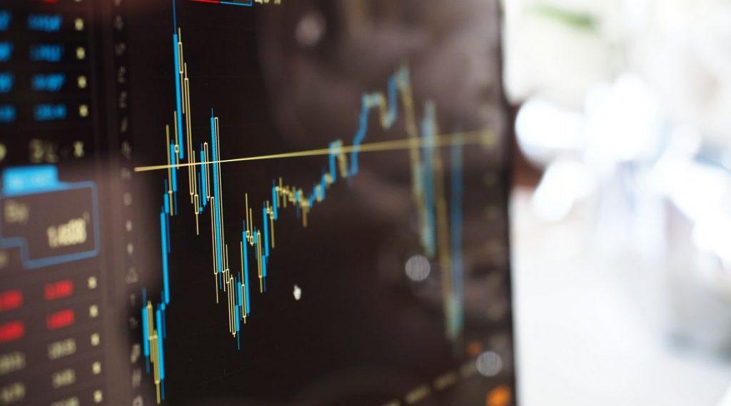 Bild eines Aktienkurses