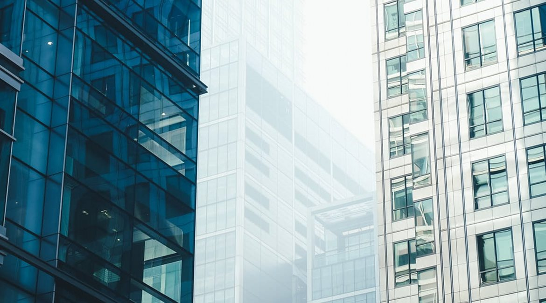 Bild dreier Business-Tower