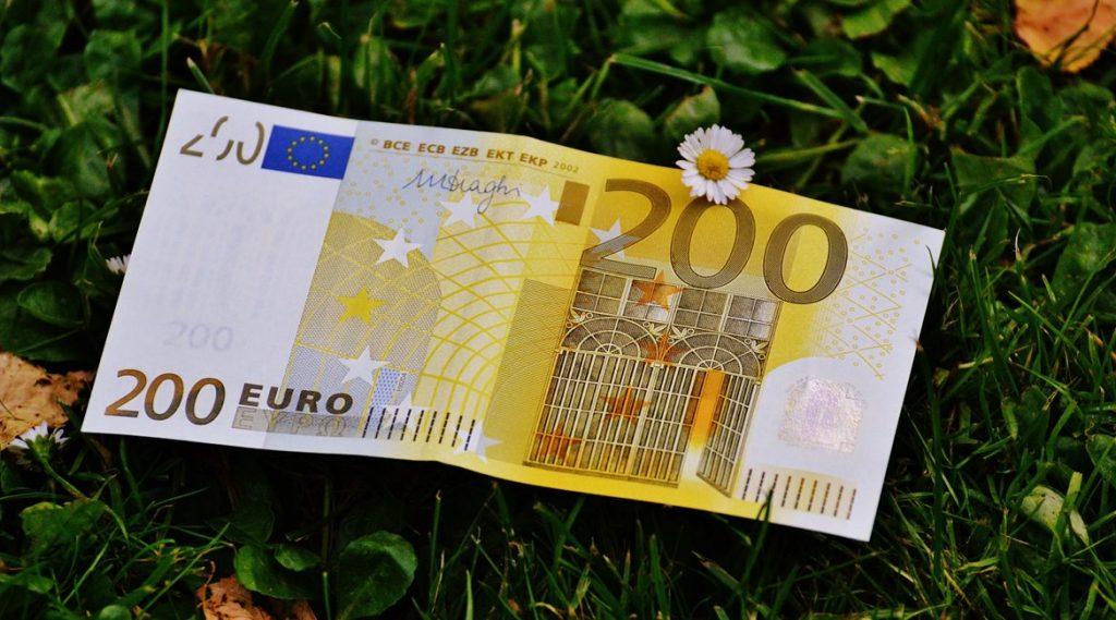 Bild eines 200-EUR-Scheins