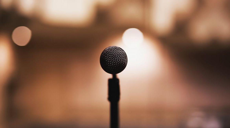 Bild eines Mikrophons