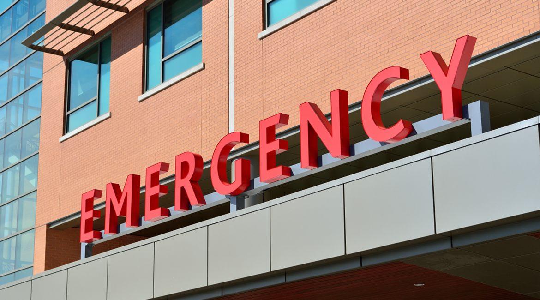 Bild einer Krankenhaus-Notaufnahme
