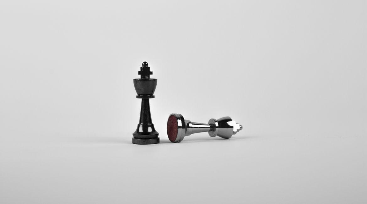 Bild zweier Schachfiguren