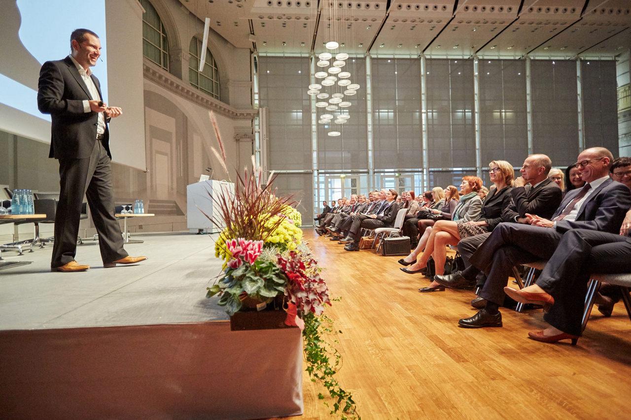 Bild eines Vortrags