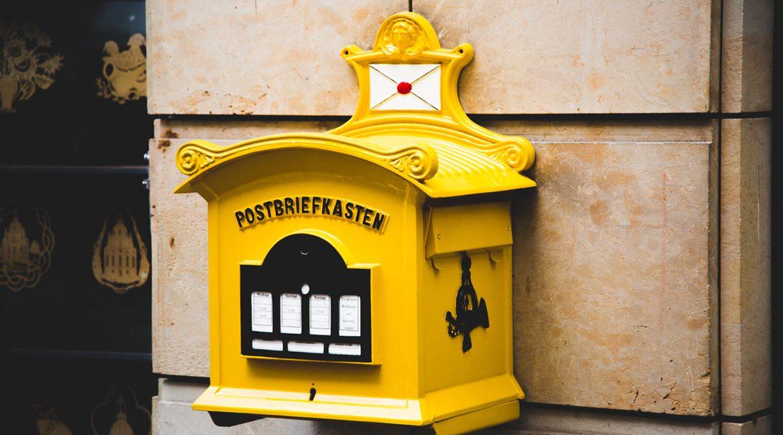 Bild eines Briefkastens