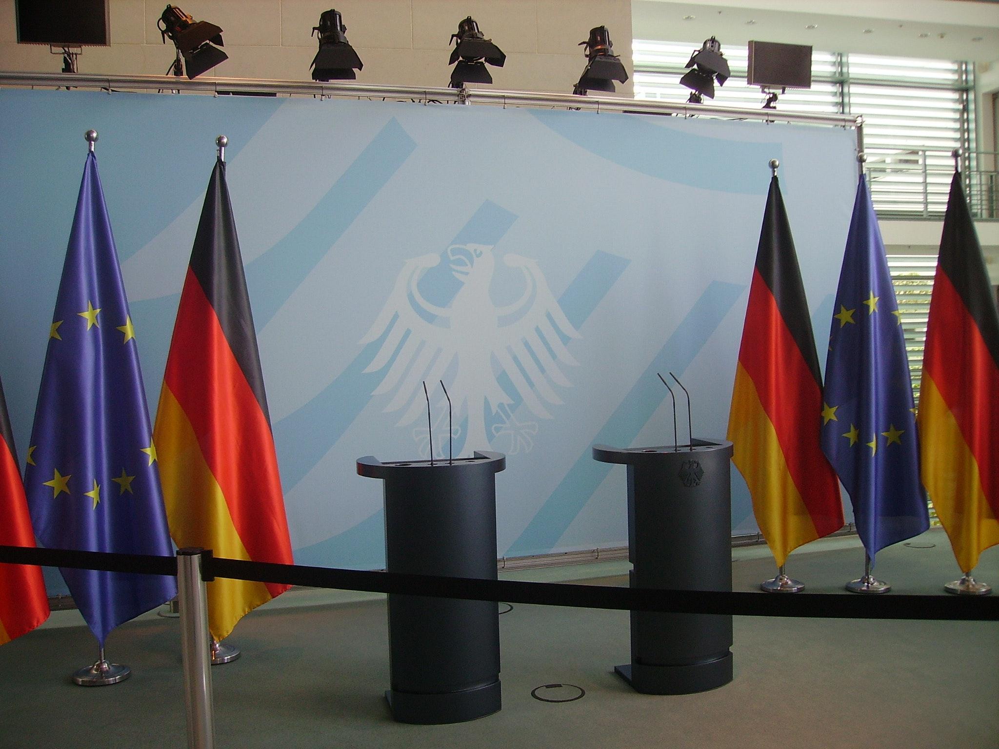 Bild einiger Flaggen